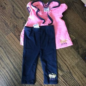 Juicy Couture Outfit 6-12 Months